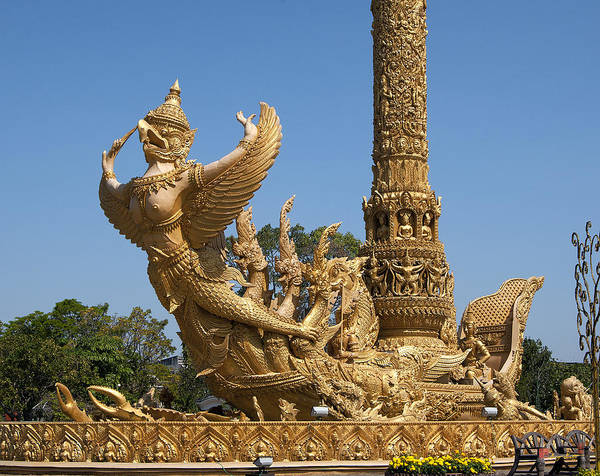 Photograph - Thung Si Muang Park Giant Candle Dthu075 by Gerry Gantt