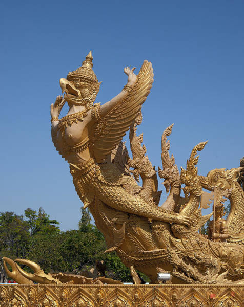 Photograph - Thung Si Muang Park Giant Candle Eagle Garuda Dthu468 by Gerry Gantt