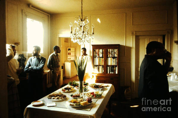 Photograph - Thurlow Tibbs Gallery And Salon 1 - 1984 by Walter Neal