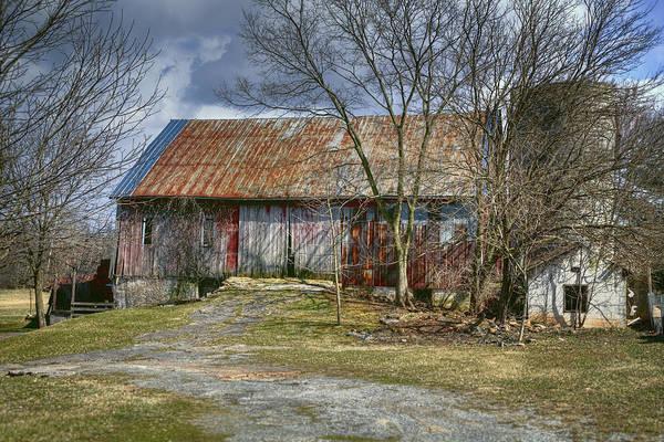 Photograph - Thurmont Barn by Joan Carroll