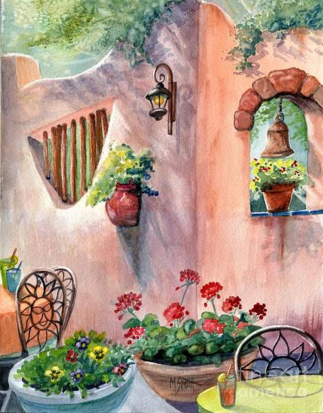 Adobe Walls Painting - Tia Rosa's by Marilyn Smith