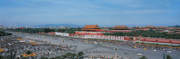 Faint Wall Art - Photograph - Tiananmen Square Beijing China by Panoramic Images
