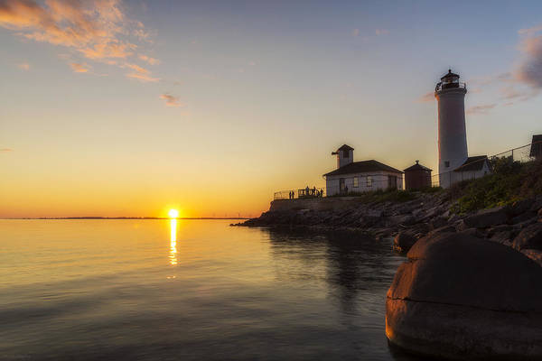 Wall Art - Photograph - Tibbetts Point Lighthouse by Mark Papke