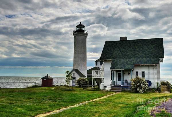 Photograph - Tibbetts Point Lighthouse by Mel Steinhauer