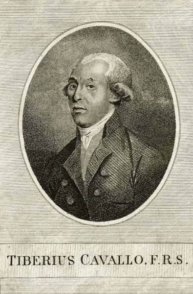 18th Century Photograph - Tiberius Cavallo by Print Collection, Miriam And Ira D. Wallach Division Of Art, Prints And Photographs/new York Public Library