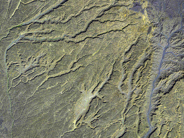 Wall Art - Photograph - Tibesti Volcanic Canyons by Nasa/gsfc/aster Science Team/science Photo Library