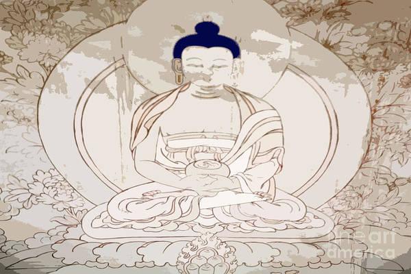 Tibet Buddha Art Print