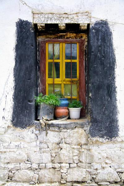 Tibet Window Art Print