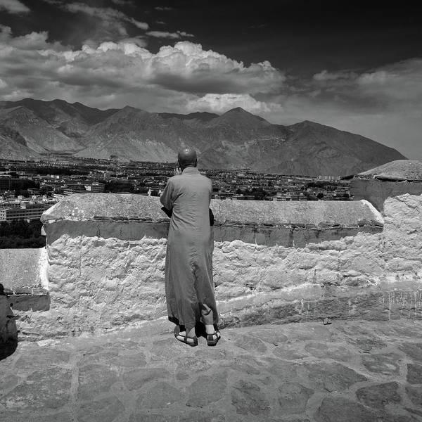 Wall Art - Photograph - Tibetan Monk by By Ak Wong