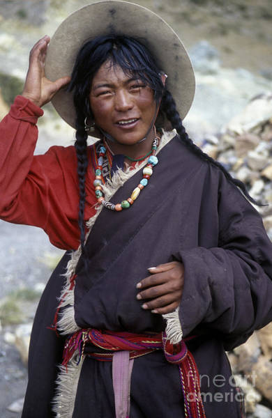 Kora Wall Art - Photograph - Tibetan Pilgrim - Mt Kailash  by Craig Lovell