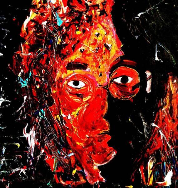 Painting - Tibute To John  by Neal Barbosa
