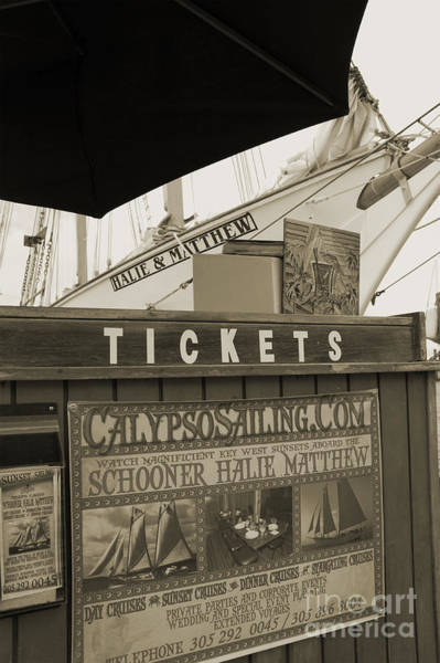 Photograph - Tickets - Key West by Kathi Shotwell
