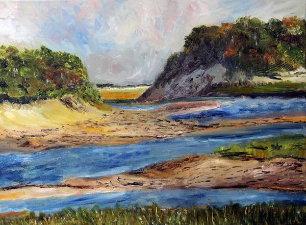Tidal Dunes In Provincetown Art Print