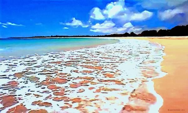 Painting - Tidal Lace by Sophia Schmierer