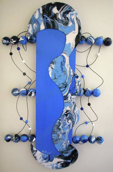 Wall Art - Sculpture - Tidal Wave by Karen Elzinga