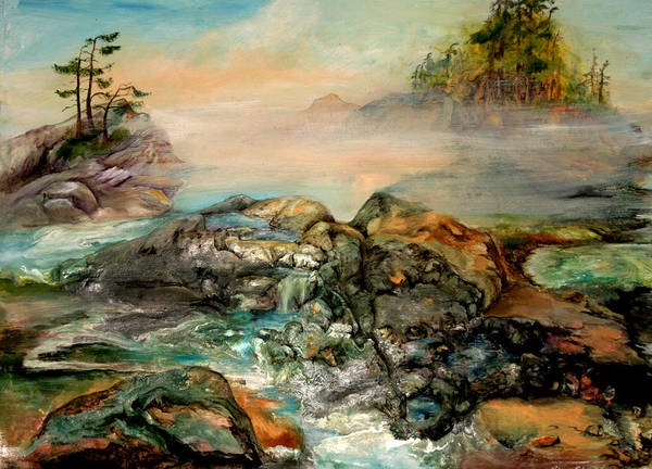 Painting - Tide Pools by Sherry Shipley