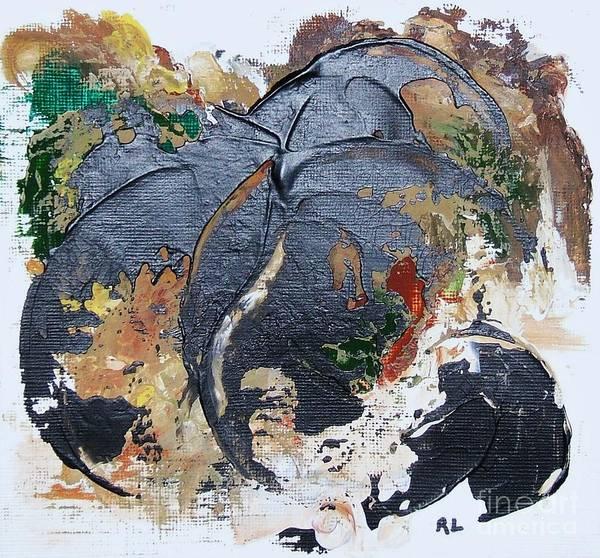 Painting - Tidepool by Rachel Lowry