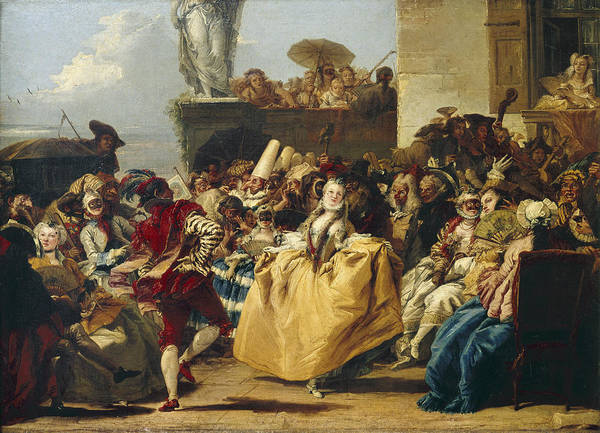 Photograph - Tiepolo: Carnival, C1755 by Granger