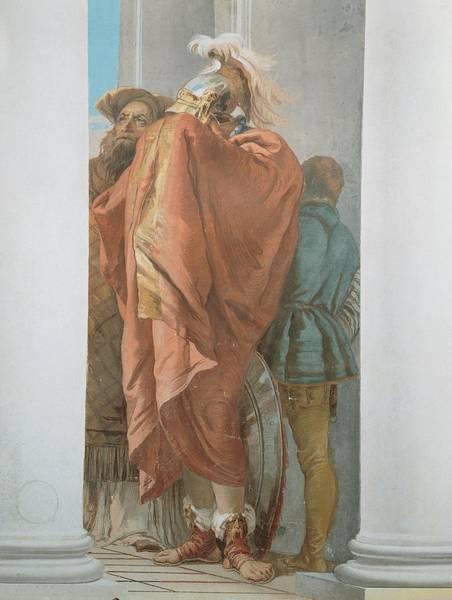 Wall Art - Photograph - Tiepolo Giambattista, The Sacrifice by Everett