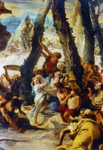 Painting - Tiepolo Manna, C1741 by Granger
