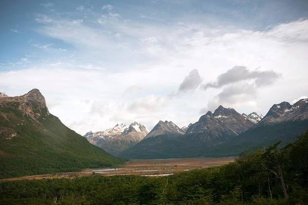 Wall Art - Photograph - Tierra Del Fuego Landscape by Peter Menzel/science Photo Library