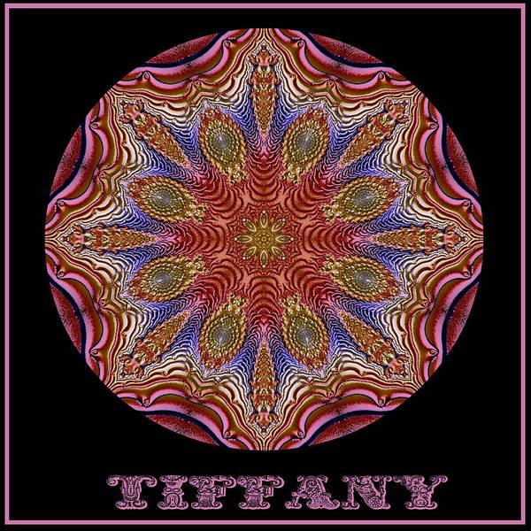 Digital Art - Tiffany No 1 by Charmaine Zoe