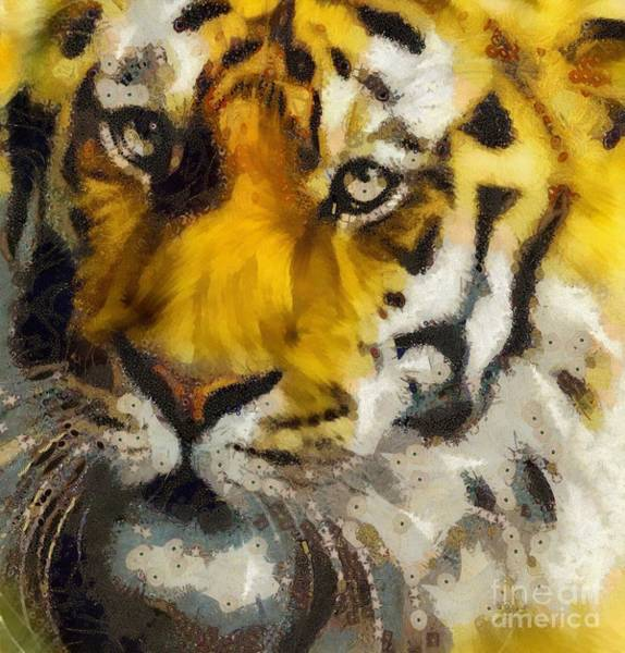 Painting - Tiger by Catherine Lott