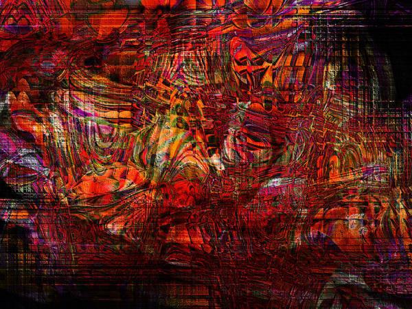Tiger Glass Art Print