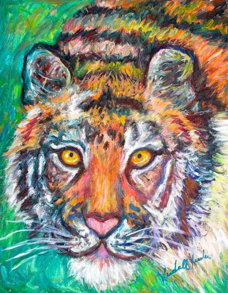 Painting - Tiger Lean by Kendall Kessler