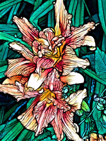 Digital Art - Tiger Lily by Jeff Iverson