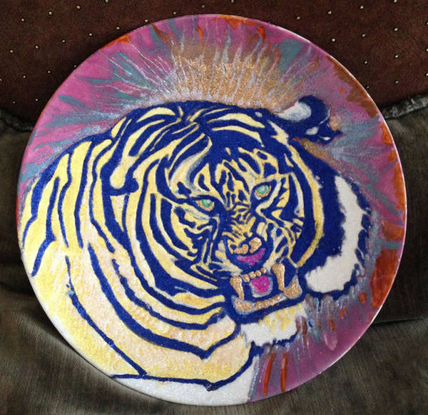 Painting - Tiger by Sima Amid Wewetzer