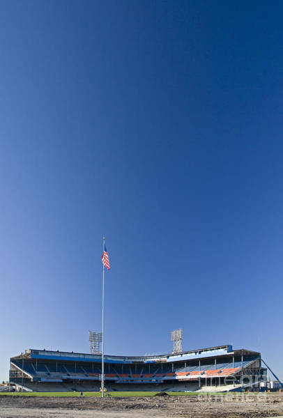 Photograph - Tiger Stadium by Jim West
