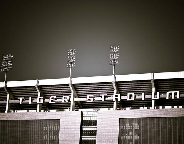 Photograph - Tiger Stadium by Maggy Marsh