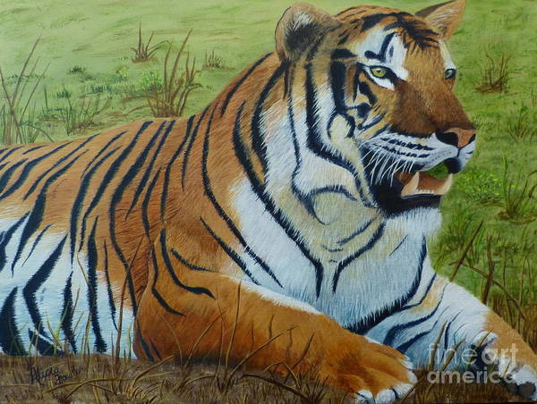 Painting - Tiger Tiger by Alicia Fowler