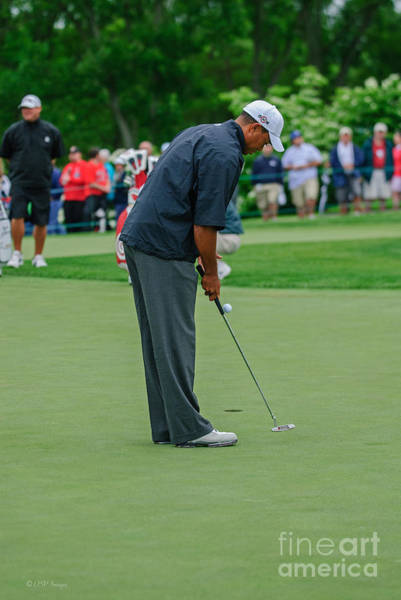 Photograph - D12w-457 Tiger Woods by Ohio Stock Photography