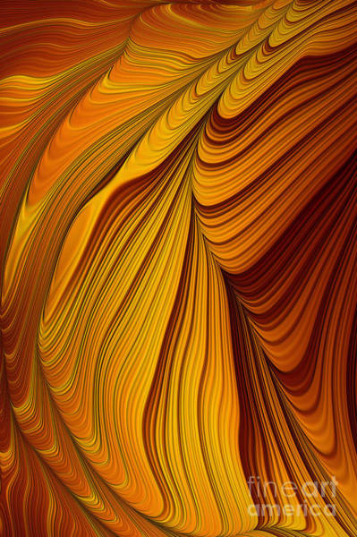 Style Digital Art - Tiger's Eye by John Edwards