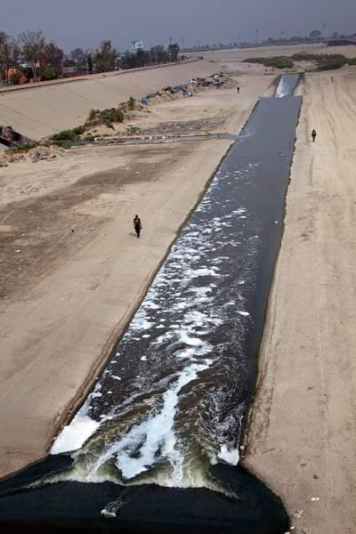 Homeless Photograph - Tijuana River by Jim West