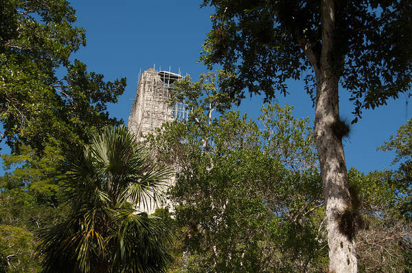 Photograph - Tikal Pyramid 4a by Michael Bessler
