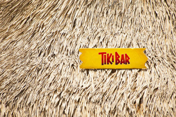 Photograph - Tiki Bar by Carolyn Marshall