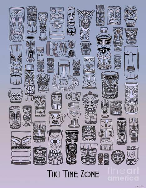 Tiki Cool Zone Art Print