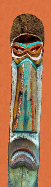 Photograph - Tiki Spa Tiki by Matthew Bamberg