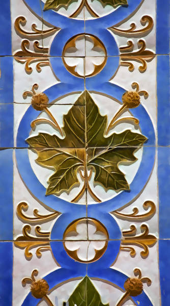 Photograph - Tile Of Portugal by David Letts
