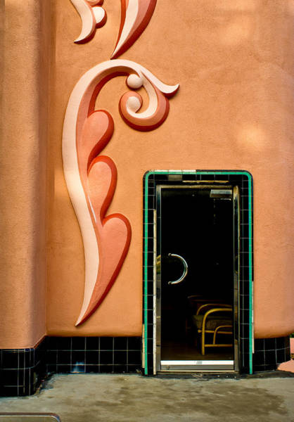 Photograph - Tiled Door by Thomas Hall