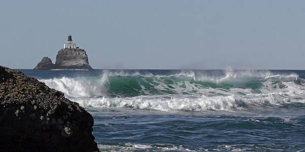 Photograph - Tillamook Head Wind And Wave by Wes and Dotty Weber