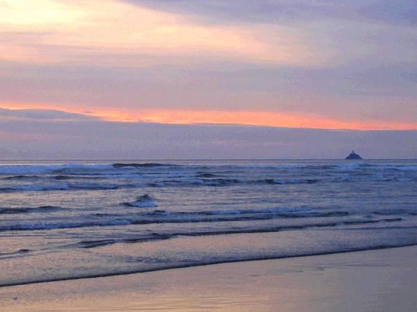 Oregon Coast Digital Art - Tillamook Lighthouse Painting by Will Borden