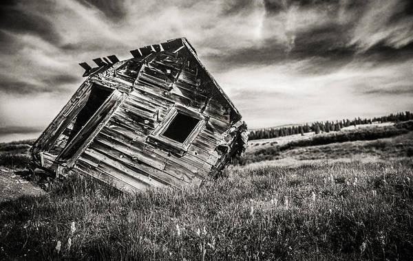 Utility Pole Photograph - Quartz Mountain 7 by Yo Pedro