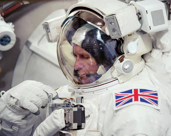 2010s Wall Art - Photograph - Tim Peake by Bill Stafford/nasa