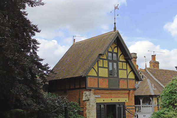 Photograph - Timber Framed House by Tony Murtagh