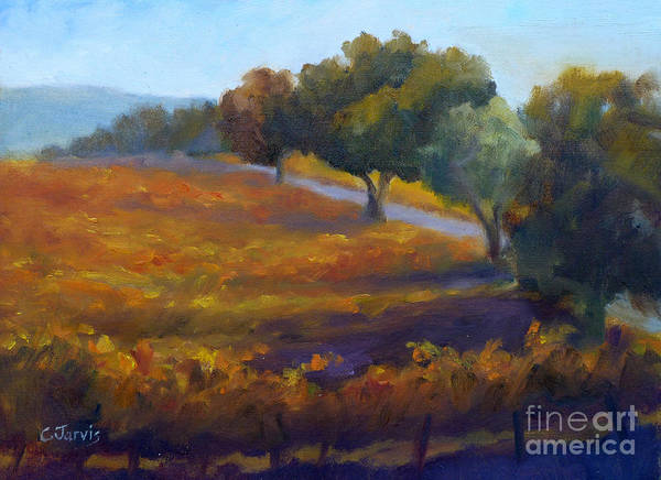 Painting - Timbercrest Fall by Carolyn Jarvis