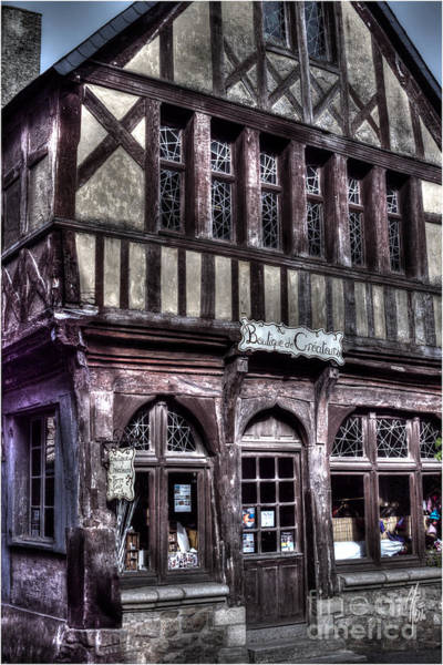 Photograph - Timbered-house In France by Heiko Koehrer-Wagner